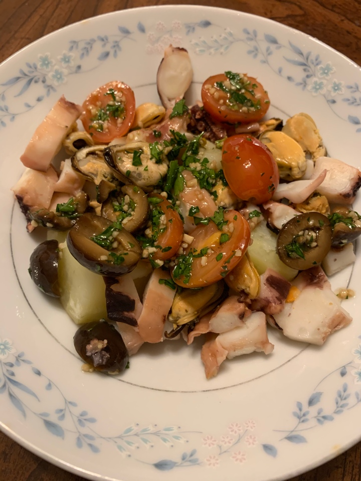 Salata Od Hobotnice -OctopusSalad